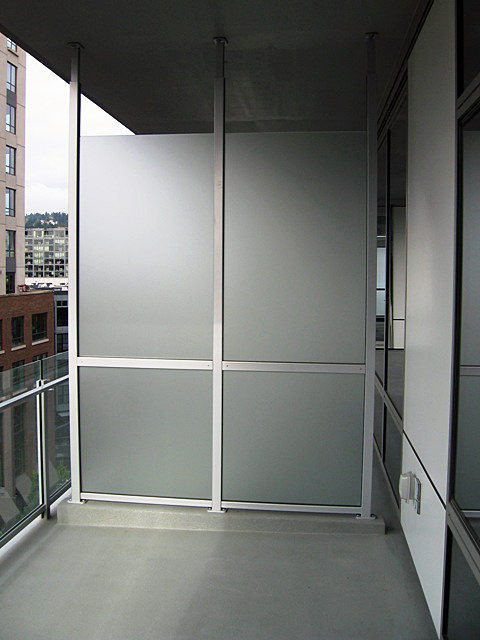 Aluminum Privacy Panel