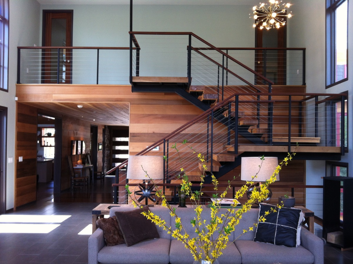 Interior Stainless Cable Railing