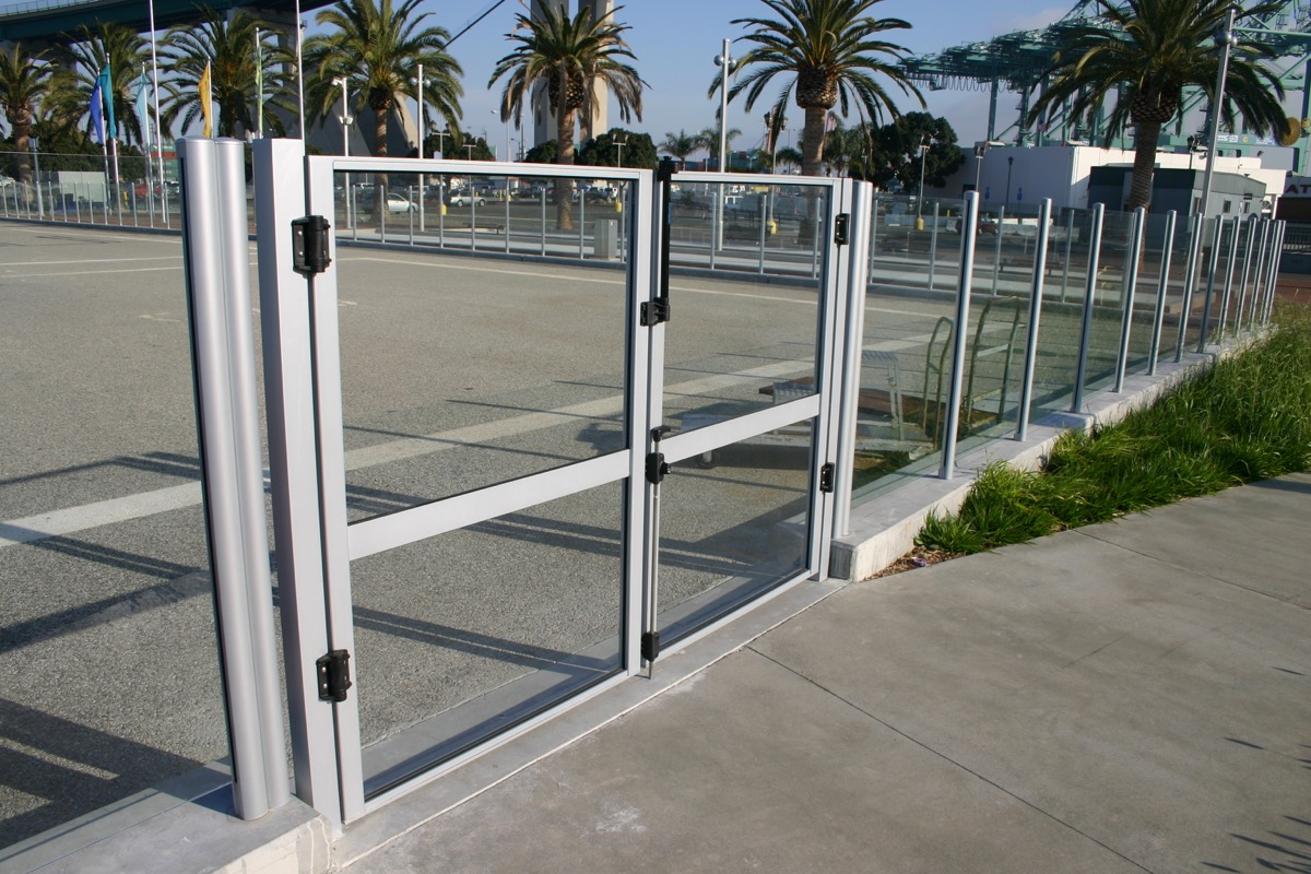 Glass Security Gate