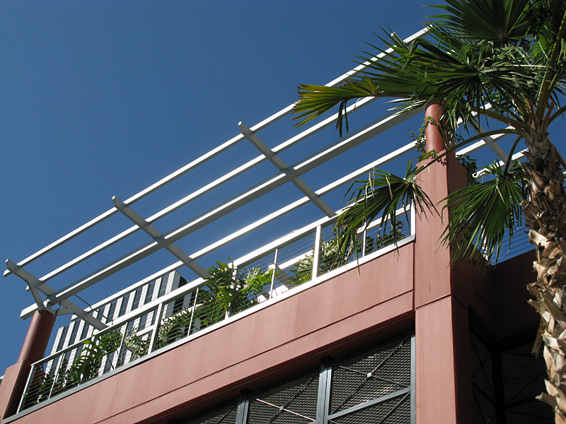 Aluminum Trellis Structures Hansen Architectural Systems