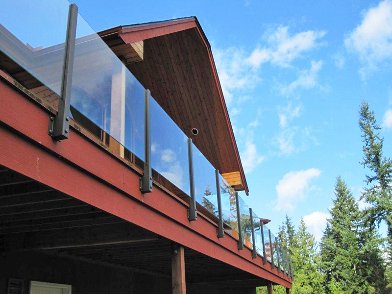 Happy Glass Railing Customers Hansen Architectural Systems