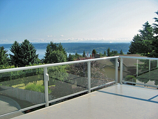 Glass Railing Hansen Architectural Systems