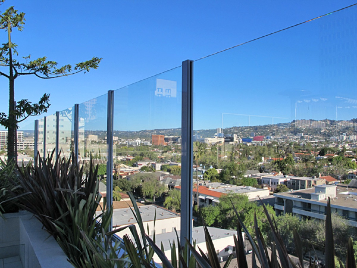 Residential Glass Wind Barrier