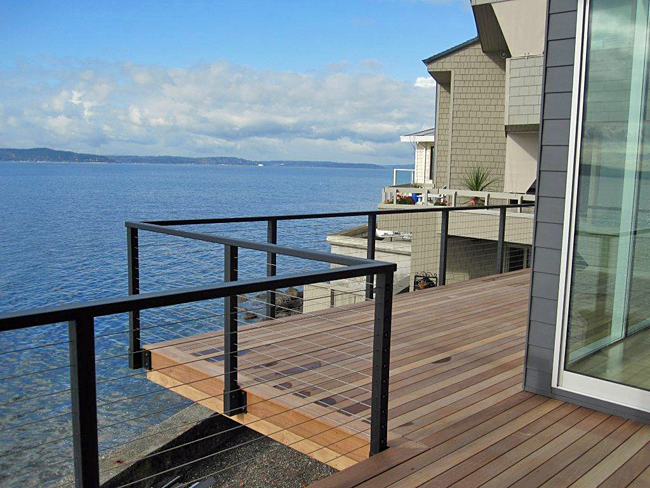 Residential Cable Railing, Cable Deck Railing